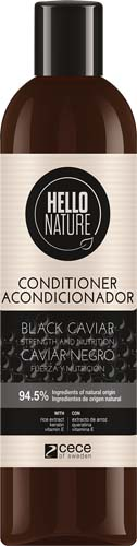 HELLO NATURE BLACK CAVIAR
